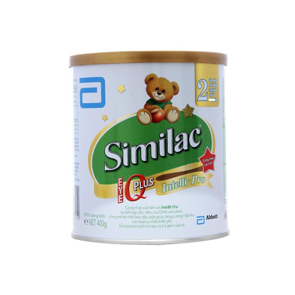 Sữa bột Similac IQ 2 400g date 2/2020