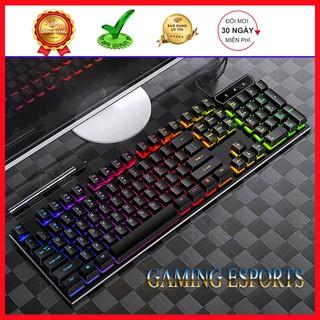 Yêu ThíchBàn phím gaming SRR led 7 màu cực chất, dàn phím cực nhạy chơi mọi tựa game BẢO HÀNH 6 THÁNG