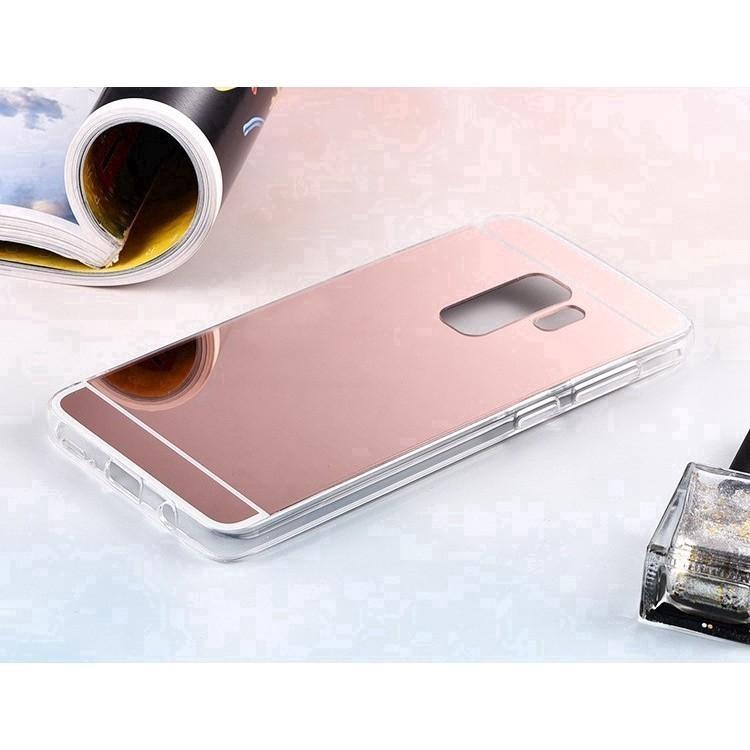 Ốp điện thoại TPU mềm mạ điện tráng gương cho Samsung S9 Plus.