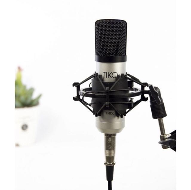 2. Mic thu âm chuyên nghiệp TIKO T-100