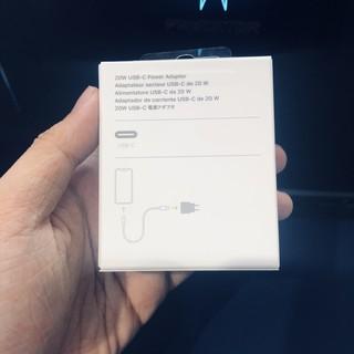 Bộ Sạc Nhanh Apple 20W Type-C Chuẩn PD Cho iPhone 12 Pro Max Mini/ iPhone 11 XS max