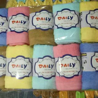 Sét 10 khăn mặt bông dày Daily - 3018320 , 934703541 , 322_934703541 , 189000 , Set-10-khan-mat-bong-day-Daily-322_934703541 , shopee.vn , Sét 10 khăn mặt bông dày Daily