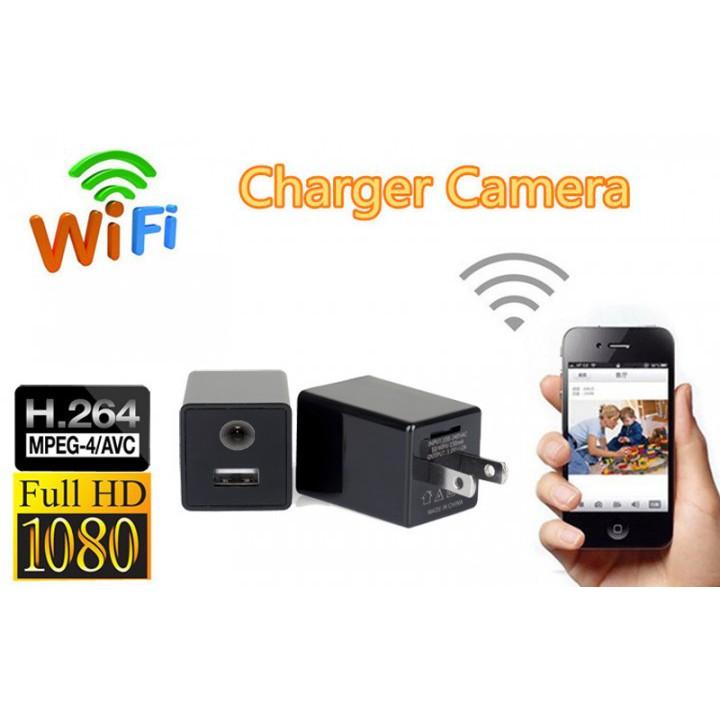 Bộ Sạc Camera Ẩn Không Dây Hoshizora Z99 Hd 1080p Wifi