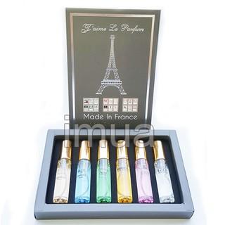 Bộ 6 chai nước Hoa Mini Nam Nữ của Pháp Jame Le Pafum Dạng lăn thumbnail