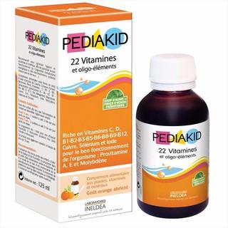 PEDIAKID 22 vitamin (pháp)
