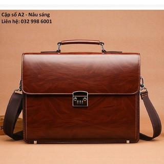túi xách laptop , cặp tài liệu văn phòng A2 [Được xem hàng]