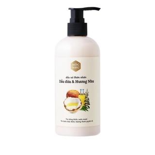 Dầu xả dầu dừa hương nhu Mộc Nhu dưỡng sâu bên trong mái tóc thumbnail