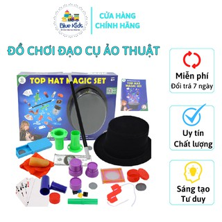 Đồ chơi đạo cụ ảo thuật BLUE KIDS độc đáo 65 đạo cụ, kích thích sáng tạo, phát triển trí tuệ cho trẻ thumbnail