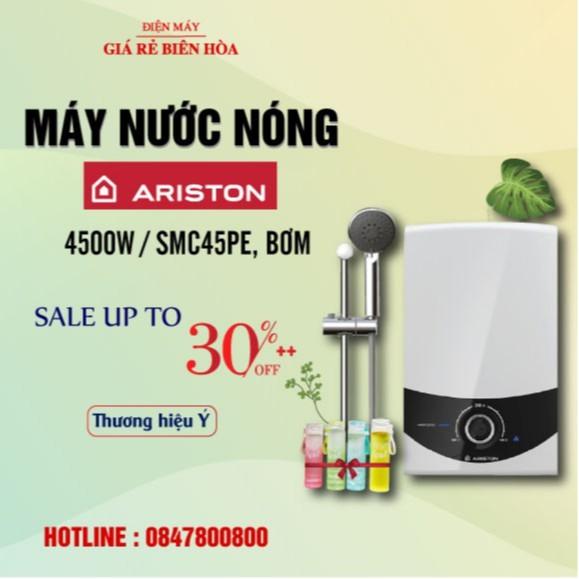 [ELPHATLOC giảm 8% tối đa 2TR] Máy nước nóng Ariston SMC45PE