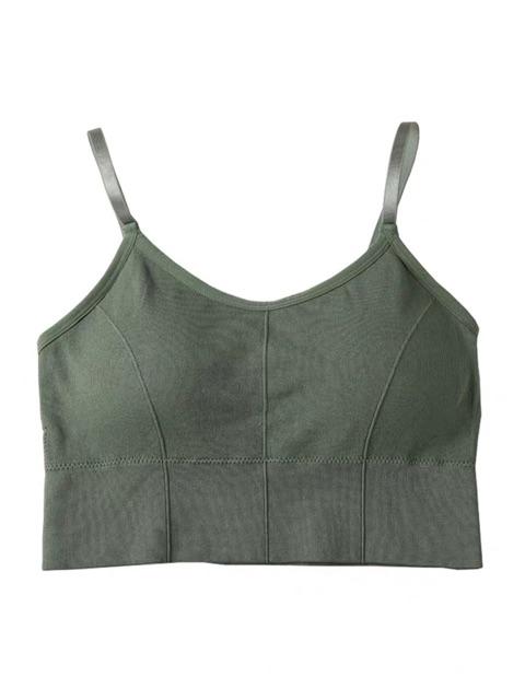 áo gym yoga áo thể thao bra không gọng đệm chắc chắn thoải mái co dãn tốt