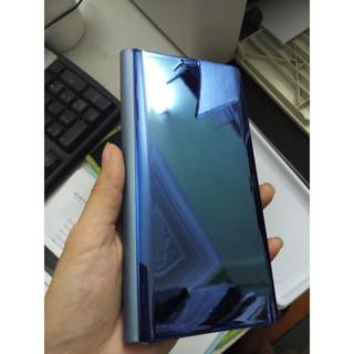 Bao da tráng gương dùng cho Samsung Galaxy Note 8 (ảnh thật)