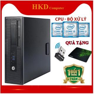 Cây Máy Tính Văn Phòng HP 600G1🖥 CPU Pentium, Core I3 I5 I7 🖥- Tặng USB Wifi Và Bàn Di.