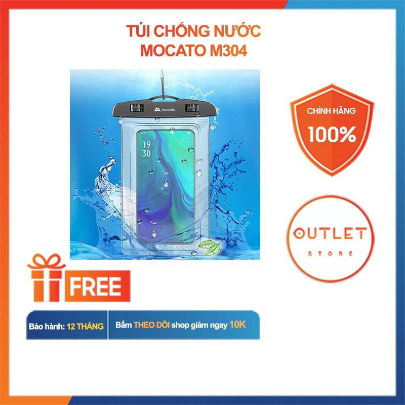 Túi Chống Nước Mocato M304 - Chống Nước Cho Điện Thoại, Phụ Kiện Công Nghệ
