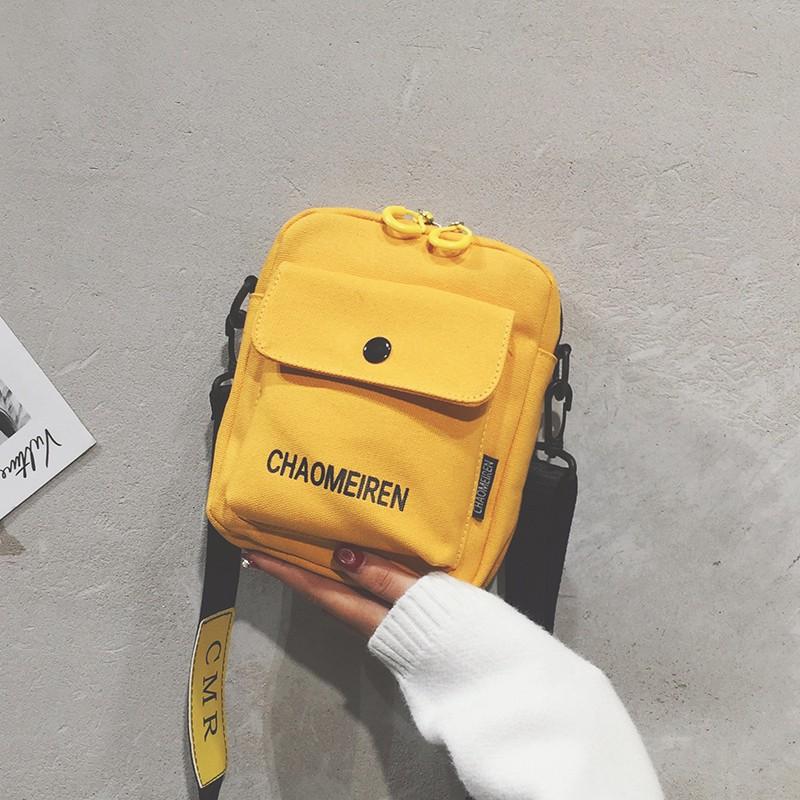 Túi xách đeo chéo đeo vai nữ vải cá tính loại 1 đựng điện thoại siêu xinh TXN84   suppercheap_store