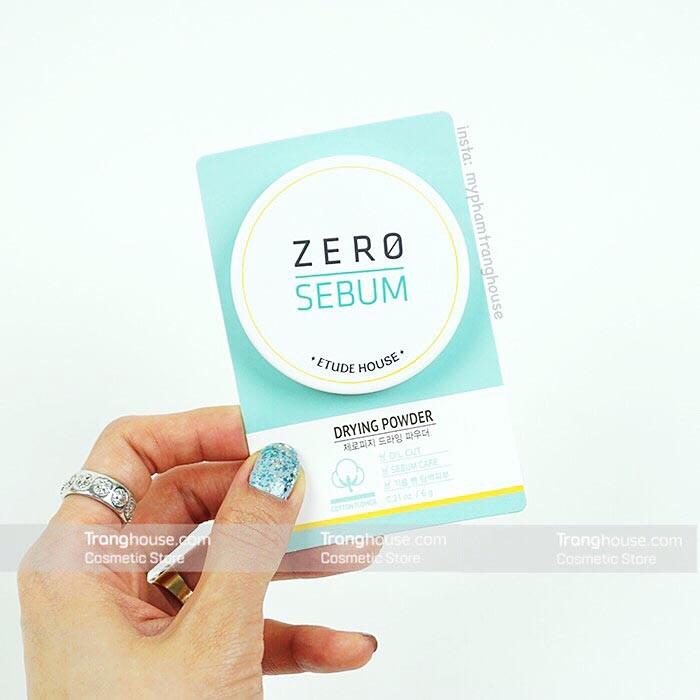 Phấn Phủ Bột Kiềm Dầu Etude House Zero Sebum Drying Powder