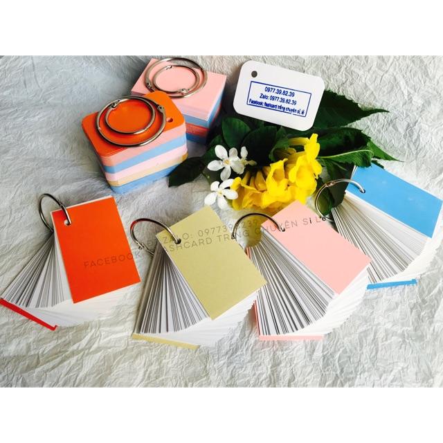 Flashcard thẻ học từ vựng tiếng anh nhật hàn trung cao cấp   Bộ thẻ học tiếng nước (100 thẻ)