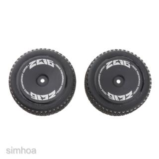2Pcs 144001-1269 Front Tire Tyres for 1/14 RC Car WLTOYS 144001 Buggy Truck