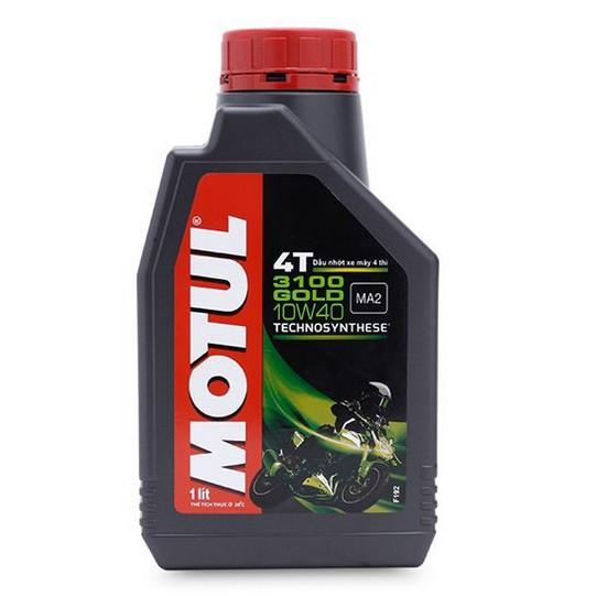 [KM] Motul 3100 Gold 10W40 1L (giải pháp tốt nhất thay thế nhớt hãng trong tầm giá)