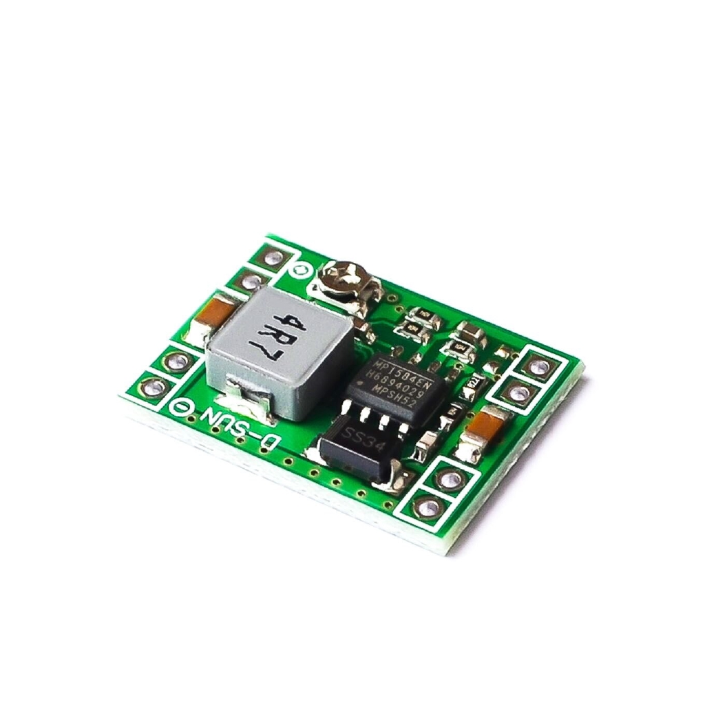 5PCS Ultra-Small Size DC-DC Step Down Power Supply Module MP1584EN 3A Adjustable Buck Converter for Arduino  LM2596