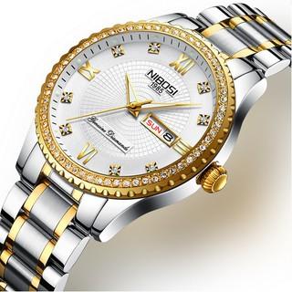 Đồng hồ nam dây thép đặc đính hạt cao cấp Nibosi 2315 (fullbox) thumbnail