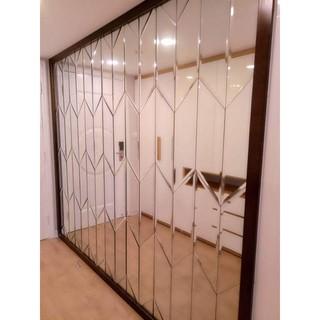 [Rẻ vô địch] Combo 9 tấm gương ghép quả trám gương thủy tinh dán tường gương bị gương trang trí decor