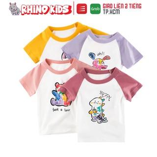 Áo thun cho bé gái 27Home tay ghép siêu dễ thương chất liệu cotton an toàn cho bé hàng chuẩn xuất Âu Mỹ thumbnail