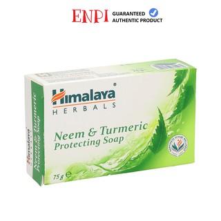 Xà phòng giảm mụn lưng Himalaya Neem & Turmeric Soap
