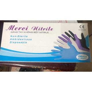 hộp găng tay có bột Vglove ( size S,M,L) thumbnail