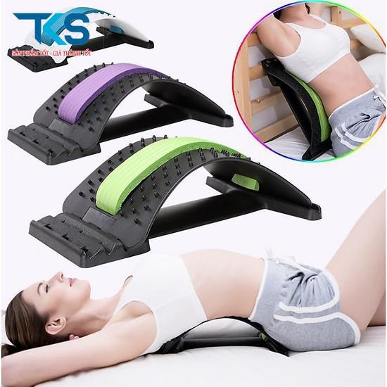 Dụng cụ Massage hỗ trợ tập lưng, Khung nắn chỉnh cột sống và điều trị thoát vị đĩa đệm