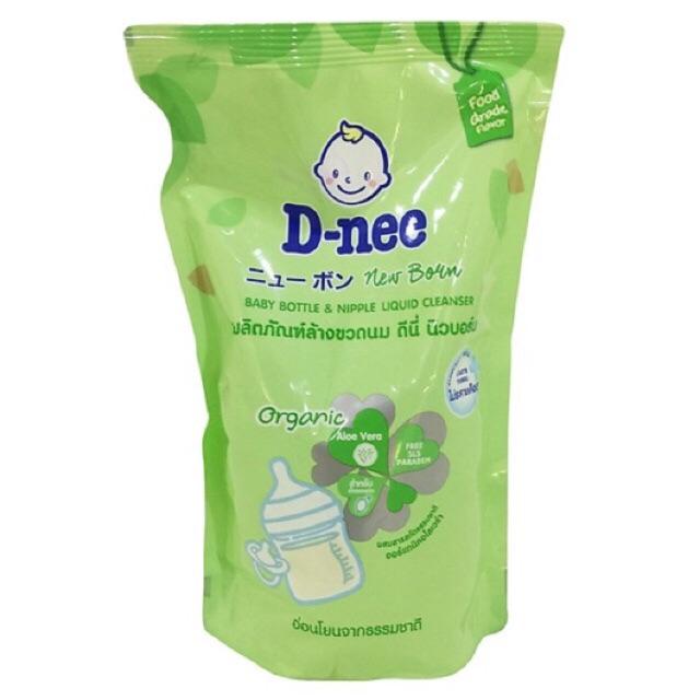[Dnee] Nước rửa bình sữa Dnee Organic dạng túi 600ml