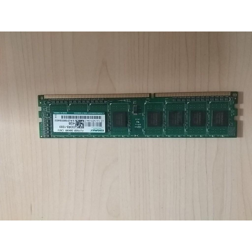 Ram Kingmax 4gb ddr3 bus133 Giá chỉ 260.000₫