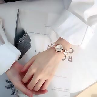 Đồng hồ thời trang nữ Beike dây hoa