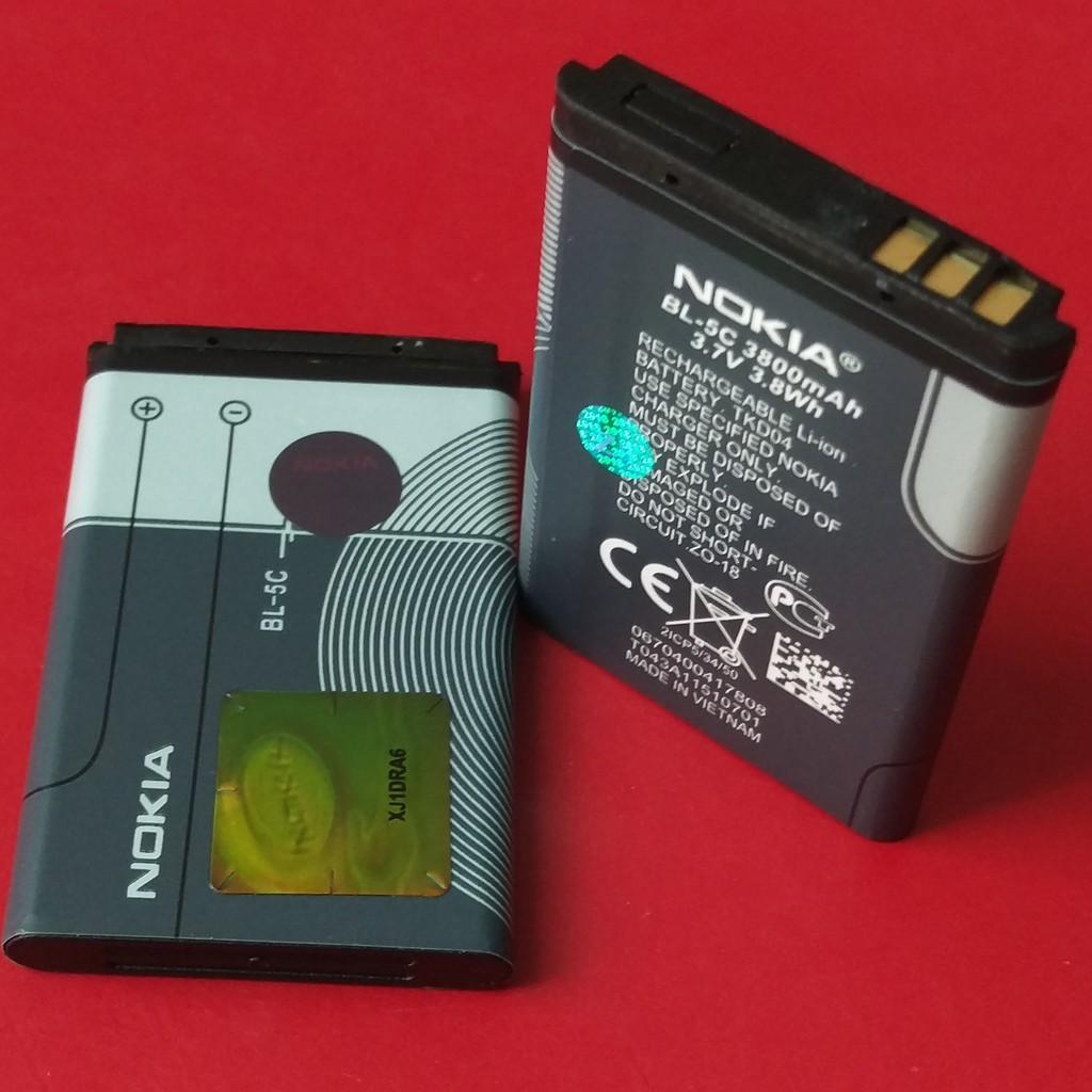 Pin Nokia BL-5C dành cho Nokia 1202;1280;2255;1110;Asha205;C2-00;6630;6681;2700c;6030;3110c;2300;2610;2600;X2