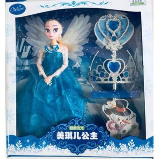 Bộ Búp Bê Elsa dùng Pin cao cấp