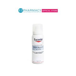 Xịt khoáng Eucerin dưỡng ẩm, chống lão hóa cho da nhạy cảm Eucerin Aquaporin Active 150ml