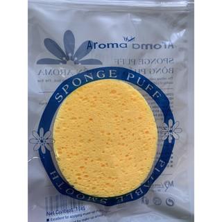 Bông Rửa Mặt Bọt Biển Massage Aroma Sponge Puff Hàn Quốc 7g thumbnail