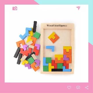 Bộ Đồ Chơi Phát Triển Trí Tuệ Cho Bé Tetris Wood Intelligence thumbnail