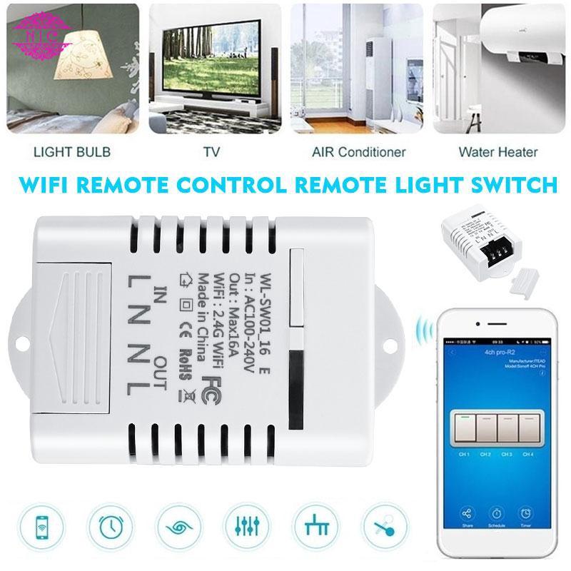 Công tắc điều khiển hẹn giờ thông minh không dây ewelink Wifi Smart