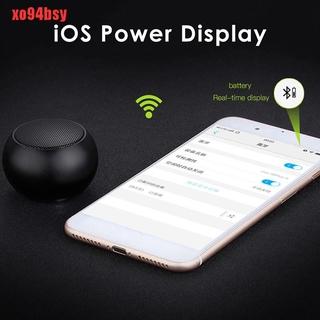 [xo94bsy]BM3D Mini TWS Portable Bluetooth Speaker Wireless Stereo Subwoofer Loudspeaker thumbnail