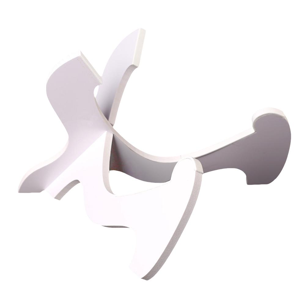 Cross Stand Portable Foldable Accessories Vertical Holder Ukulele Violin PVC Rack