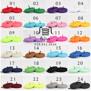 Dây giày dẹt Nike Air Force 1 (AF1), Nike Air Jordan (AJ),... (kèm ảnh chụp thật 12 màu đầu tiên) thumbnail