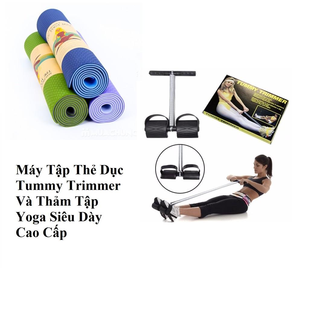 Combo 1 dụng cụ tập cơ bụng và 1 thảm tập Yoga Tummy Trimmer - 2717408 , 51184389 , 322_51184389 , 189000 , Combo-1-dung-cu-tap-co-bung-va-1-tham-tap-Yoga-Tummy-Trimmer-322_51184389 , shopee.vn , Combo 1 dụng cụ tập cơ bụng và 1 thảm tập Yoga Tummy Trimmer