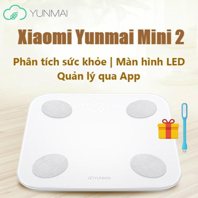 CÂN THÔNG MINH XIAOMI YUNMAI MINI 2 | Cân thông minh Xiaomi Smart Scale | Cân sức khỏe | Cân thông m - 2686060 , 31456662 , 322_31456662 , 550000 , CAN-THONG-MINH-XIAOMI-YUNMAI-MINI-2-Can-thong-minh-Xiaomi-Smart-Scale-Can-suc-khoe-Can-thong-m-322_31456662 , shopee.vn , CÂN THÔNG MINH XIAOMI YUNMAI MINI 2 | Cân thông minh Xiaomi Smart Scale | Cân sức k