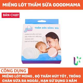 Miếng lót thấm sữa goodmama – siêu thấm, vệ sinh, cao cấp cho mẹ- giặt và sử dụng nhiều lần GLTS