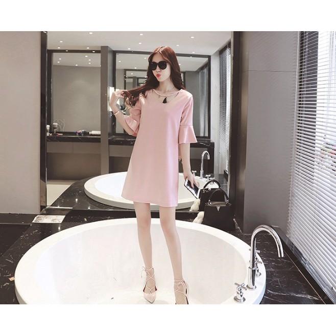 VB065 váy bầu thời trang kết hợp cho con bú