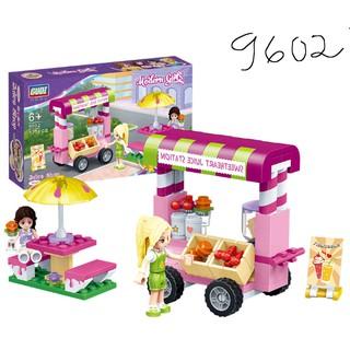 Lego xếp hình dành cho bé gái – Khu vườn vui chơi