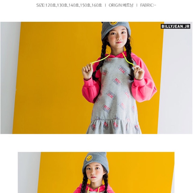 Đầm bé gái xuất Hàn