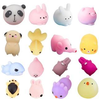 Set 16 đồ chơi nắn bóp giúp giải tỏa căng thẳng hình dáng dễ thương |Loamini565