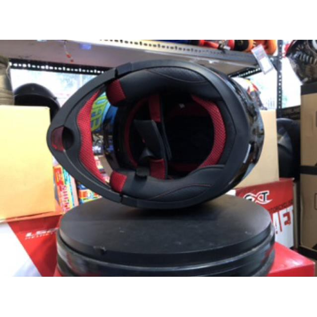 Mũ bảo hiểm fullface EGO lật hàm 2 kính E9