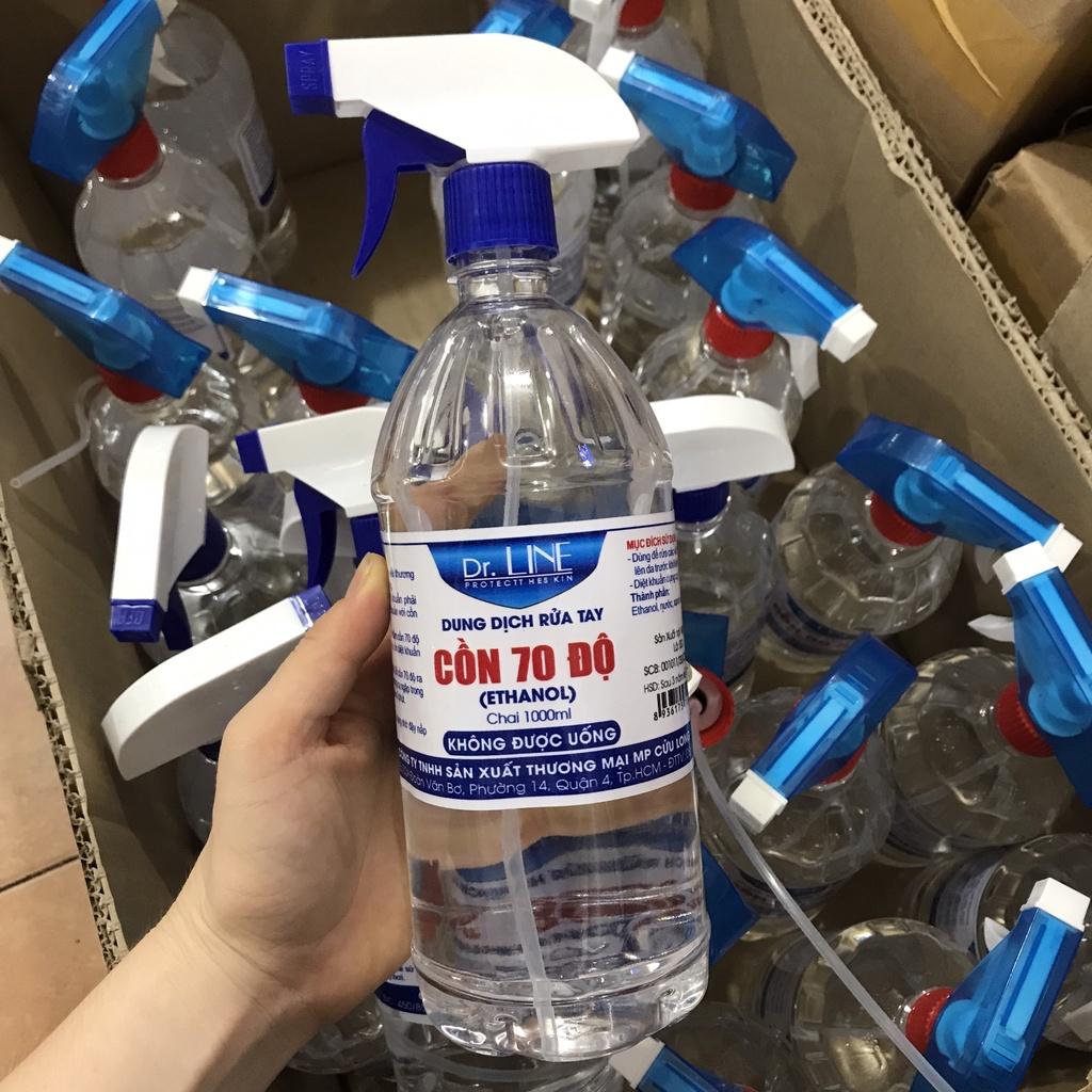 Cồn 70 Độ Chai 1000ml | Shopee Việt Nam